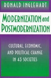 Cover of: Modernization and postmodernization