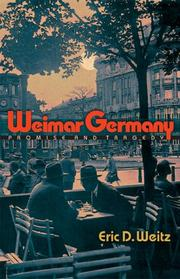 Cover of: Weimar Germany