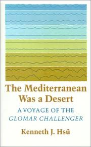 Cover of: The Mediterranean Was a Desert | Kenneth J. Hsu