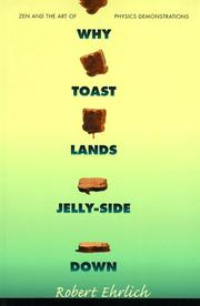Cover of: Why toast lands jelly-side down