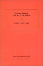 Cover of: Complex dynamics and renormalization
