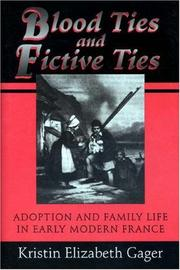 Cover of: Blood ties and fictive ties