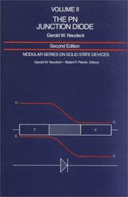 Cover of: The PN junction diode | Gerold W. Neudeck