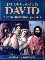 Cover of: Jacques-Louis David