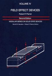Field effect devices by Robert F. Pierret