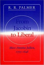 Cover of: From Jacobin to liberal
