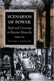 Cover of: Scenarios of power