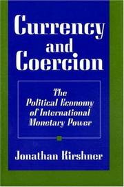 Cover of: Currency and Coercion