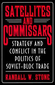 Cover of: Satellites and commissars | Randall W. Stone