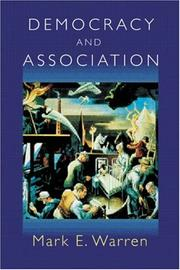 Cover of: Democracy and Association