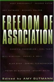 Cover of: Freedom of association |