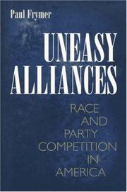 Cover of: Uneasy alliances