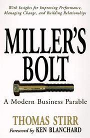 Cover of: Miller's bolt