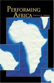 Cover of: Performing Africa | Paulla A. Ebron