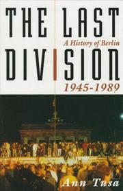 Cover of: The last division