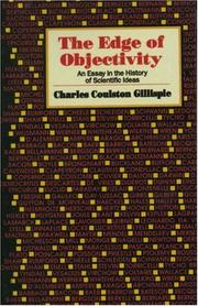 Cover of: The edge of objectivity
