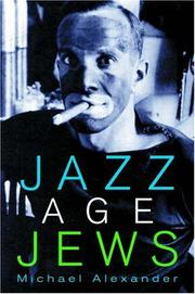 Cover of: Jazz Age Jews. | Michael Alexander