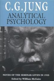 Cover of: Analytical psychology