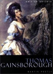 Cover of: Thomas Gainsborough (British Artists)