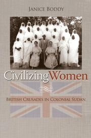 Cover of: Civilizing Women | Janice Boddy