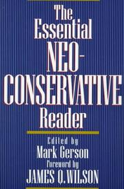 Cover of: The Essential Neoconservative Reader