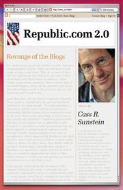 Cover of: Republic.com 2.0