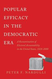 Cover of: Popular Efficacy in the Democratic Era | Peter F. Nardulli