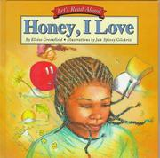 Cover of: Honey, I Love (Let's Read Aloud)
