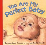Cover of: You are my perfect baby