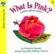 Cover of: What is pink?