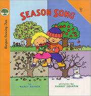 Cover of: Season song | Marcy Barack