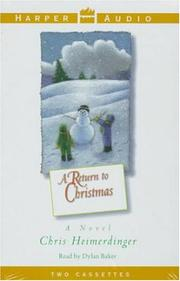 Cover of: A Return to Christmas |