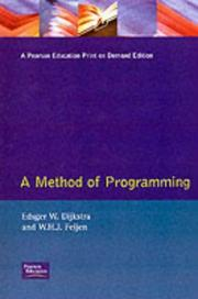 Cover of: A method of programming