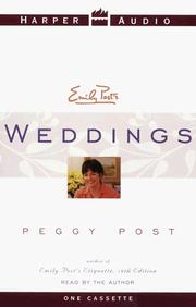 Cover of: Emily Post Weddings | Emily Post