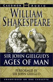 Cover of: The ages of man: Shakespeare's image of man and nature