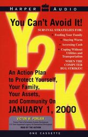 Cover of: Y2K:Protect Yourself, Your Family, Your Assets and Your Community |
