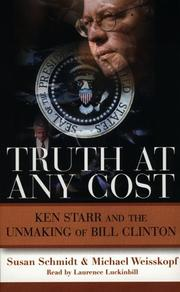 Cover of: Truth at Any Cost | Susan Schmidt