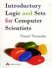 Cover of: Introductory Logic and Sets for Computer Scientists