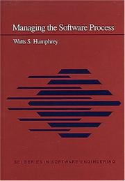 Cover of: Managing the software process