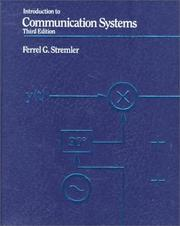 Cover of: Introduction to Communication Systems