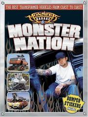 Cover of: Monster Nation Jr. (Monster Garage) | Kristin Bienert