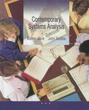 Cover of: Contemporary systems analysis | Marvin Gore