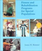 Cover of: Fitness and rehabilitation programs for special populations | James H. Rimmer