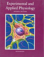 Cover of: Experimental and applied physiology | Richard G. Pflanzer