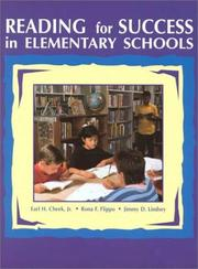 Reading for success in elementary schools by Earl H. Cheek