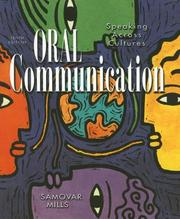 Oral communication by Larry A. Samovar
