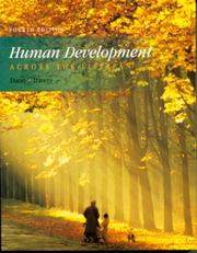 Cover of: Human development across the lifespan | John S. Dacey