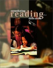 Cover of: Remediating reading difficulties | Sharon J. Crawley