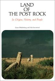 Cover of: Land of the Post Rock: Its Origins, History, and People