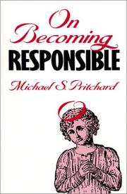 Cover of: On becoming responsible
